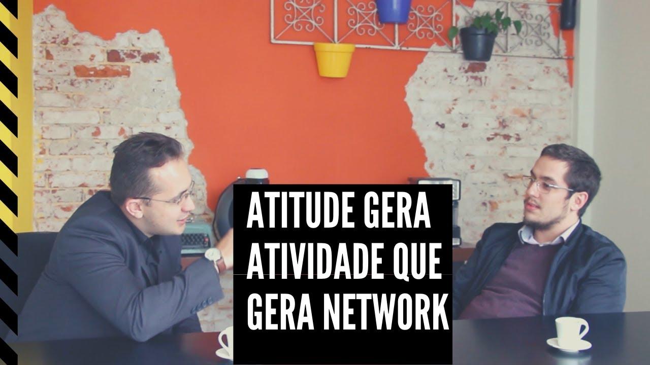 network, atitude e atividade