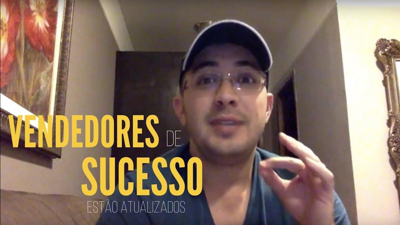 Os vendedores de sucesso estão atualizados