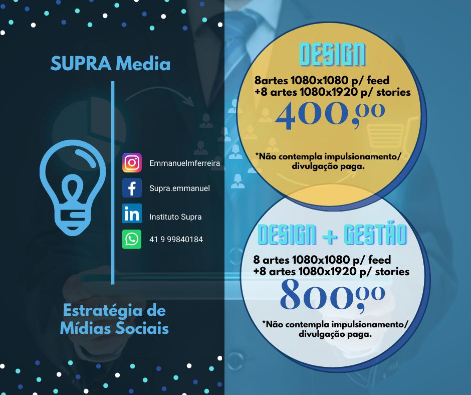 Supra Media - Estratégia de Mídias Sociais